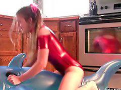 Spandex, Inflate, Inflation, Shiny, Spandex, Inflat#