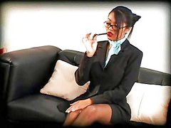 Secretary, Lingerie sex office, Asian secretary, Black secretary, Stocking office, Secretary stocking