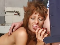 Mature, Vintage, French, Mature anal, French anal, Vintage anal