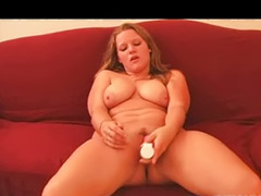 Chubby, Girl, Amateur, Big tits solo