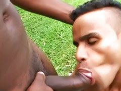 Muscle, Black, Gay, Anal, Latin