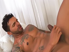 Tattoo love, Abs, Wanking on, Wanked on, Latin gay solo, Gay latin solo