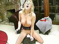 Sybian, Intense orgasm, Loud, Haley, Sybian orgasm, Loudly orgasm