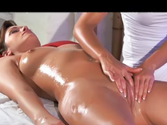 Massage, Beautiful, Lesbian massage, Clit