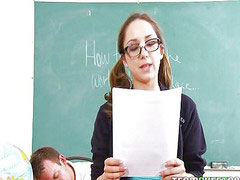 School, Sexy, Glasses, Remy lacroix