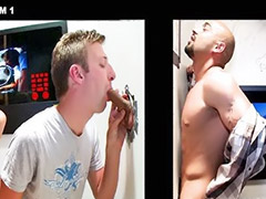 Bj, Glory hole, Surprise, Latino, Glory, Glory hole gay