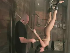 In the air, Sex in bondage, In air, Blowjob bondage, Bondage blowjob, Air