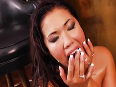Screaming, Scream, Asian orgasm, London keyes, London keys, Orgasm asian