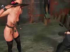 Femdom, Punish, Cry, Punishment, Lesbian, Bondage