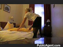 Hotel, Maid, Blonde, Fucking, Fuck, Hotel maid