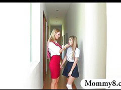 Teacher, Threesome, Milf, Mature