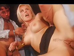 Sandra, Bar, Sandra g, Beauty blonde, Fucking beauty, Double fuck