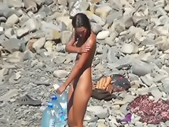 Beach, Girl enjoying, Solo beach, Girls on beach, Girle beach, Girl beach