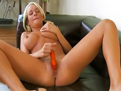 Busty toy, Busty blonde solo, Solo busty blonde