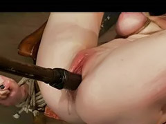 Toy in pussy, Pussy bondage, Masturbating chair, Bondage chair, Bound in, Bound chair