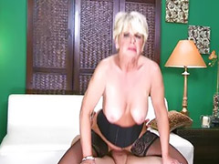 Mature, Stocking tits, Stocking milf, Mature stocking, Mature big tit, Mature milf