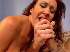 Bailey, Milf mouth, Bumping, Peaking, Mouths of cum, Mouth full of cum