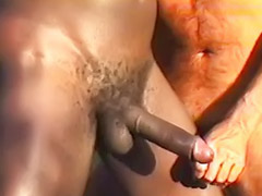 Interracial cum gay