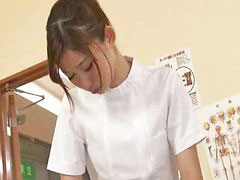 Massage, Japanese, Beautiful, Young, Japanese massage