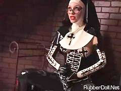 Nuns, Dominatrix, Latex dominatrix, Nun latex, Latex nun, Dominatrix pov