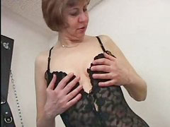 Titty fuck, Nipples mature, Little fuck, Nipple fucking, Titty fucking, Mature in stockings