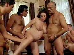 Daddy, Gangbang, Pregnant, Daughter