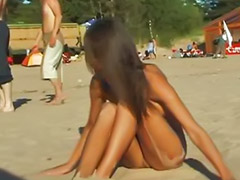Public, Amateur, Naked, Beach