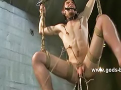 Caught, Caught gay, Device bondage, Device, Device sex, Gay bondage