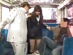Bus, In bus, Schoolgirl get fuck, Bus fuck, Schoolgirl in bus, Schoolgirl bus