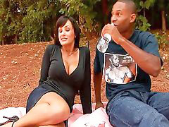 Lisa ann, Lisa, Interracial milf, Pornstar milf masturbate, Lisa ann interracial, Outdoor cocks