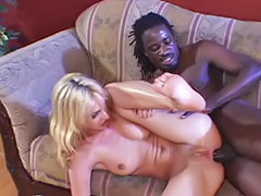 Loud, Gagging black cocks, Gagging black cock, Black cock gagging, Loude, Interracial blonde cum swallow