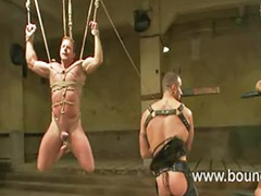 Anal tied, Tied and sex, Gay tied, Drew, Řvaní, Vans