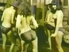 1960, Topless, Dancer girl, Striptease public, Dancer, Dancers