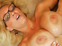 Charlee chase, Charlee, Young with milf, Milf charlee, Office young, Hot blonde office