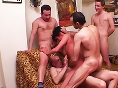 French gangbang, Mature gangbang, French mature, Mature amateur anal, Mature first, Double french