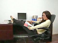 Penny flame, Penny, Threesome office, Office threesomes, Office threesome, Flame