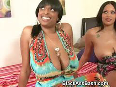 Threesome, Black, Big, Blacks
