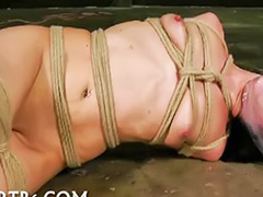 Showes fetish, Fearful, Babe showing, Solo bondage, Fear, Bondag girl