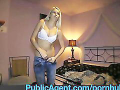 Reality, Reality sex, Realitis, Reality blonde, Stunning blonde, Agent public