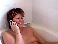 Mature bath, Hot bath, Bathing hot, Bath mature, Mature