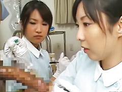 Bizarre, Japanese doctor, Sex penis, Asian doctor, Nurses handjob, Nurse uniform