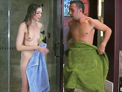 Daughter, Shower, Teens, Teen