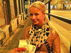 Public, Czech, Students, Sex, Public sex, Blonde