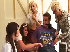 First gangbang, Gangbang schoolgirl, Gangbang first, Lesson, Girl first, Lessons