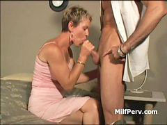 Milf blow, Husbands cock, Husband cock