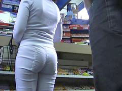 White sexy, Slow motion, Pants ass, Sexy in ass, In pants, Pantحموم