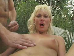 Dp outdoor, Dp blonde, Outdoor dp, Blonde dp, Blonde anal dp, Blond dp
