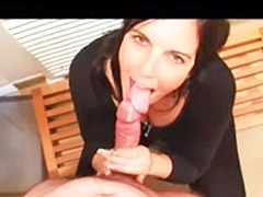 Deepthroat and swallow, Perfect amateur, Amateur blowjob and swallow, Perfect blowjob, Swallow cum amateur