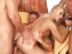 Nikki blond, Gangbang day, Nikki sun, Marty, Deny, Denis