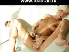 Blonde hd, Megan, Hd girl, Megan d, Solo girls bath, Solo bath